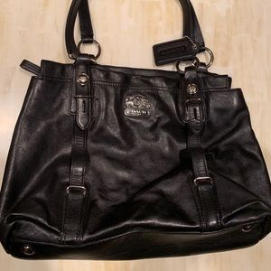 Coach Soft Leather Hobo with storage bag